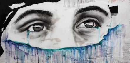 """""""Eyes"""" 2'x4'"""