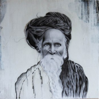 """""""The Baba"""" 2' x2'"""